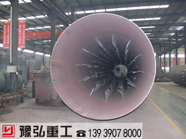 尾矿干燥机内部结构图